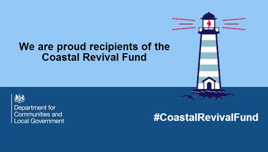We are proud recipeints of the Coastal Revival Fund
