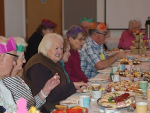 North Norfolk District Council holds afternoon tea to bring together exercise class attendees