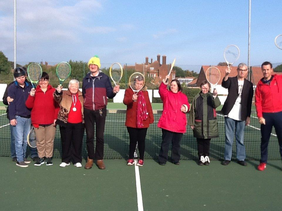 Disabled Tennis at Cromer Tennis Club