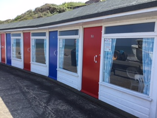 Photo of beach hut chalets