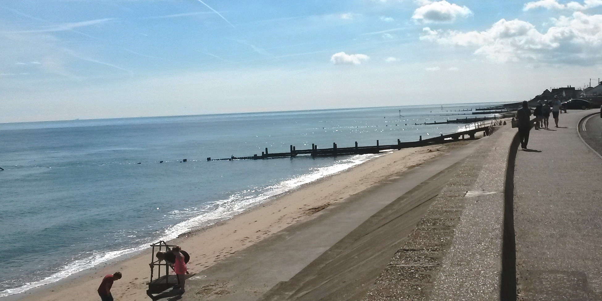 Bacton to Walcott Seafront