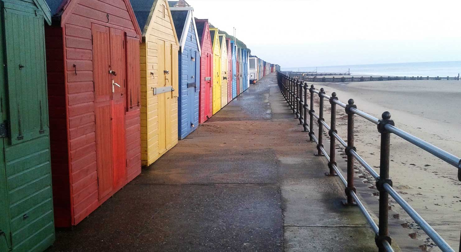 Beach huts to rent