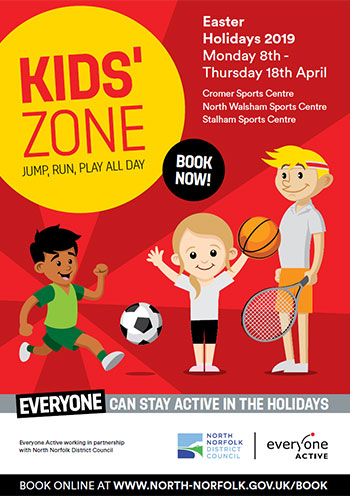 Kids Zone Activities Brochure