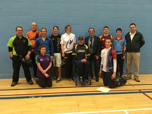 Archery contest hosted at Fakenham Sports and Fitness Centre