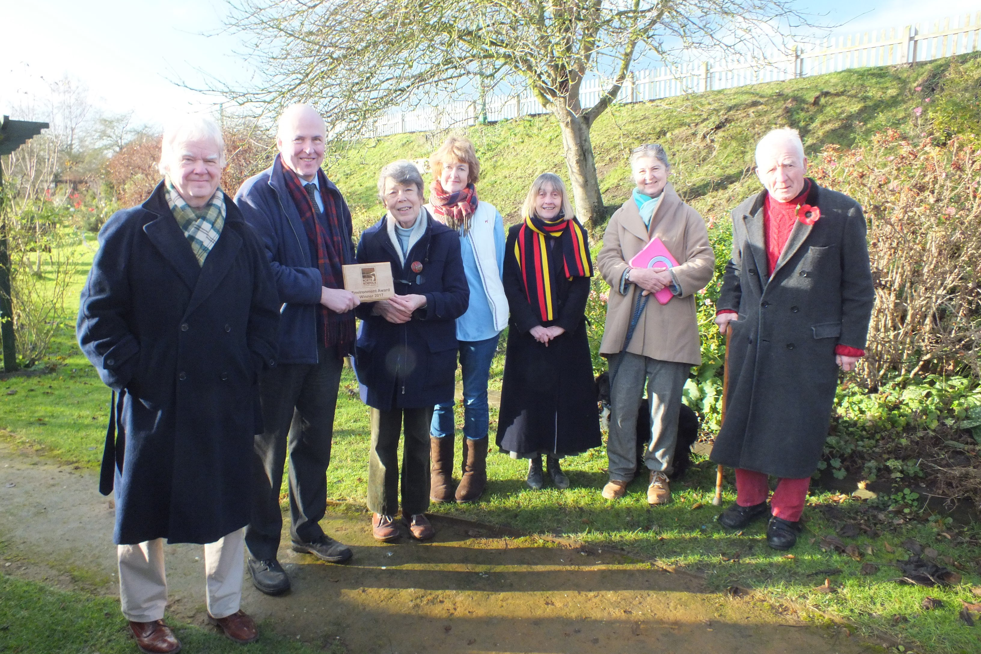 Environment Award for Walsingham quiet garden