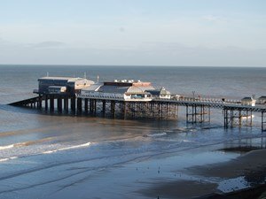 The Pavilion Theatre and Cromer Pier