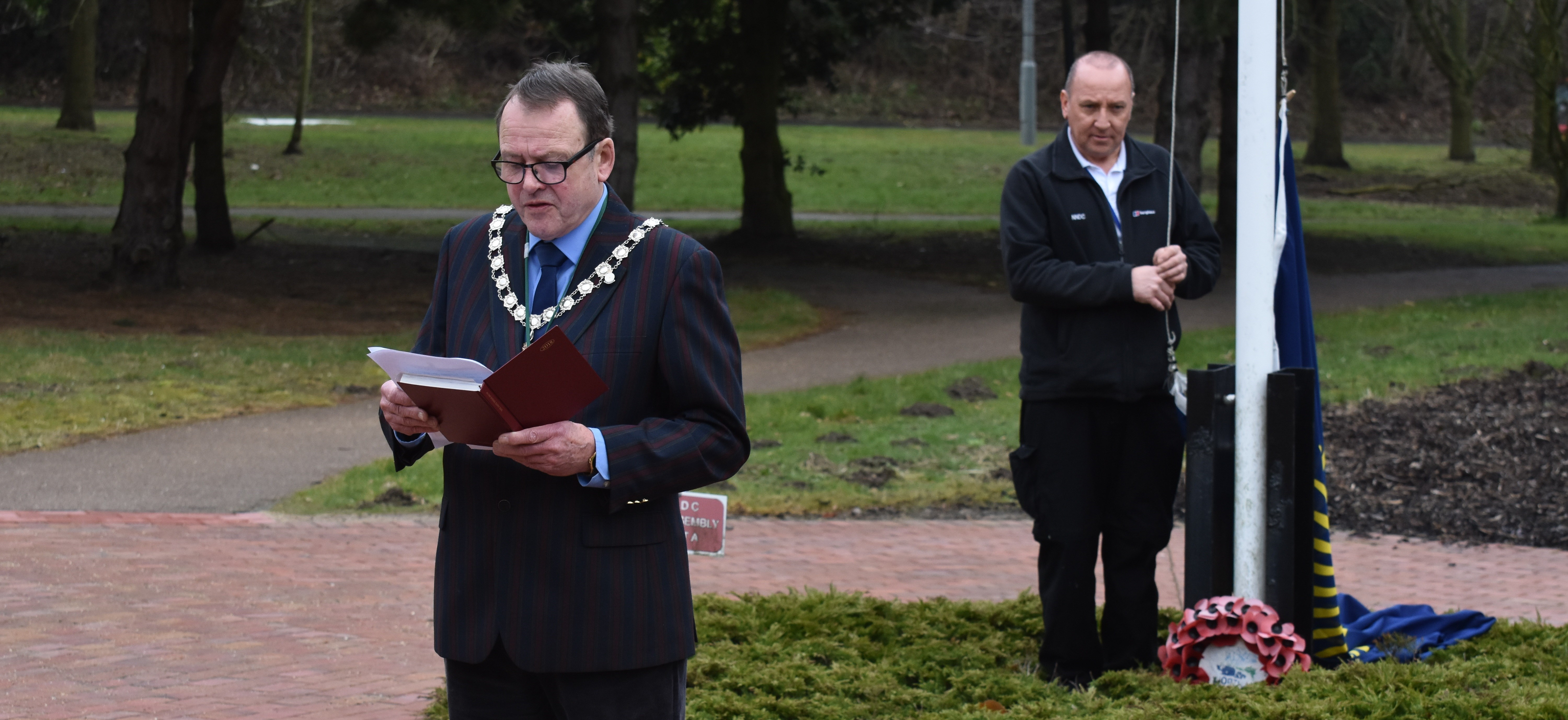 North Norfolk District Council raises flag on Commonwealth Day