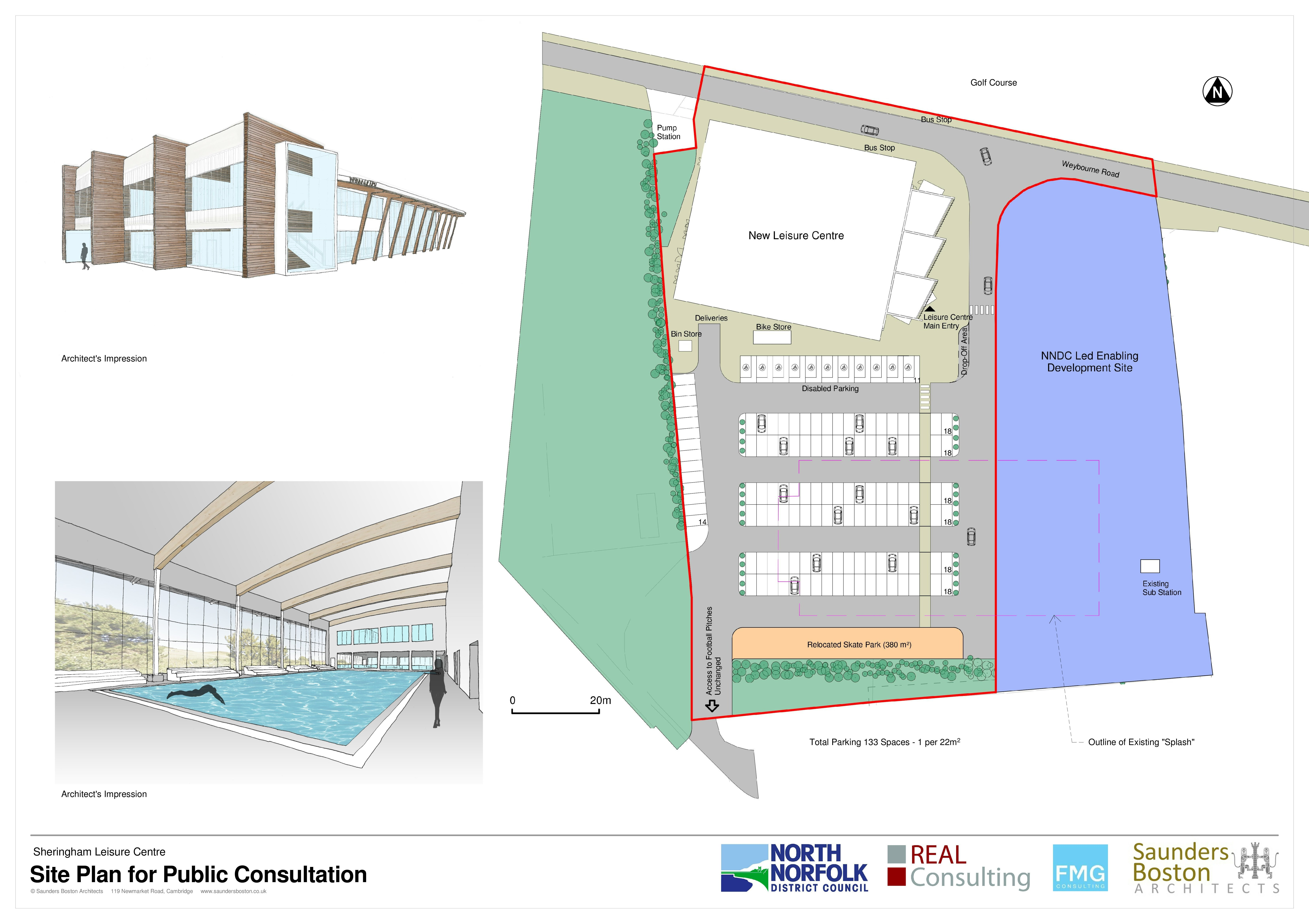 North Norfolk District Council seeks views on leisure centre proposals