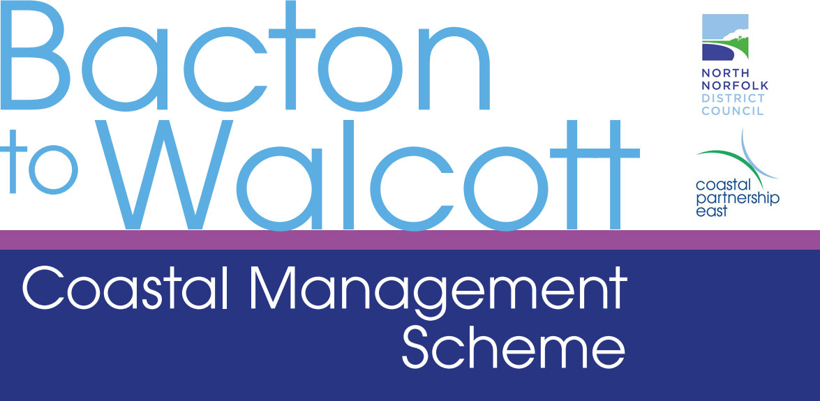 Bacton to Walcott coastal management scheme logo