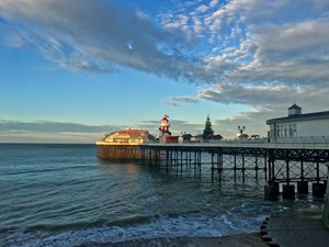 Tourism in Cromer is boosted by BBC Christmas film