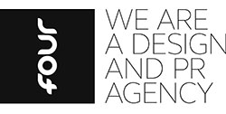 Four we are a design and PR agency