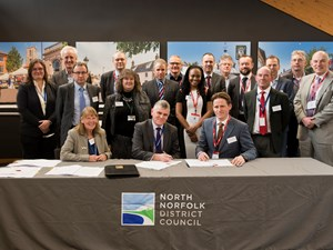 Construction contract signed for innovative Sandscaping scheme in North Norfolk