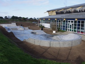 New skate park build in Sheringham completed