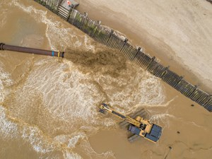 Bacton to Walcott Sandscaping project reaches key milestone