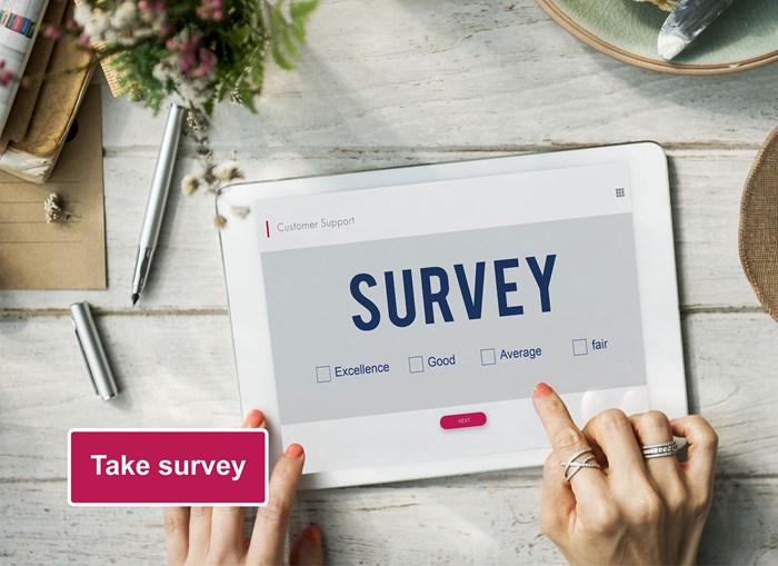 Customer Survey (Benefits landing page)