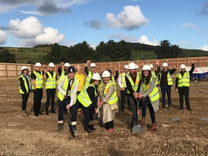 Ground-breaking ceremony for new Sheringham Leisure Centre