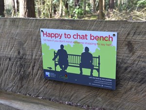 'Happy to Chat' benches introduced to Green Flag parks